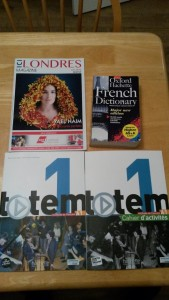 Books for my french studies!