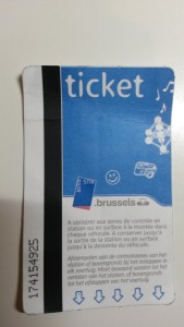 Metro ticket, it's the small things that remind me of where I'd like to be? :)