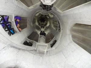 Bottom of the Porte De Hal