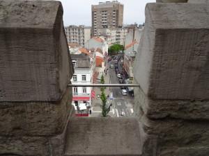 Looking down on Brussels