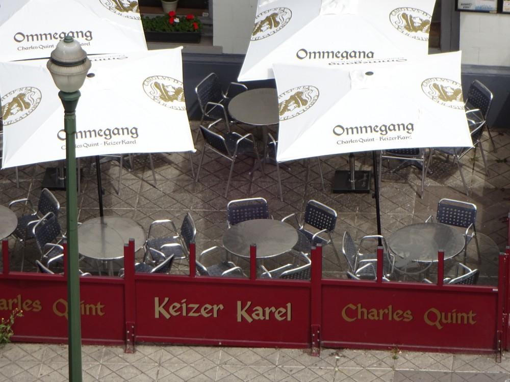Belgian Café empty in the morning