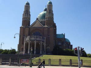 At the Basilica of the Sacred Heart